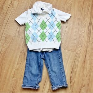 Toddler Jeans Outfit Preppy